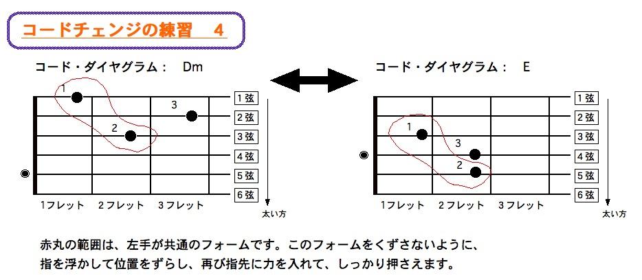 コードチェンジ 4